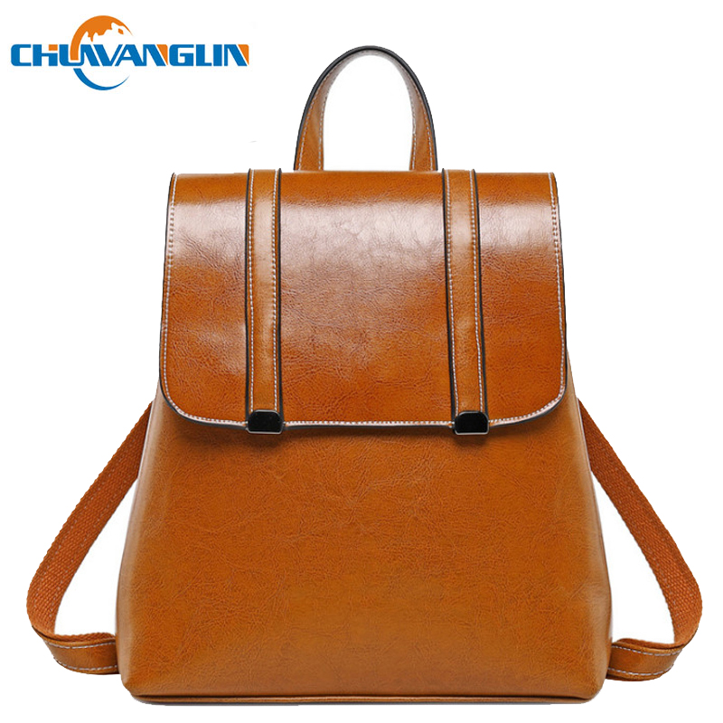 Chuwanglin Genuine Leather backpack women Simple female Daily backpack fashion school bags high quality travel backpacks A2338Chuwanglin Genuine Leather backpack women Simple female Daily backpack fashion school bags high quality travel backpacks A2338
