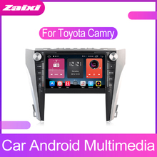 ZaiXi 2 DIN Android Touchscreen For Toyota Camry Aurion 2011~2017 Car Multimedia Player Bluetooth GPS Navigator FM Radio Player idoing 10 2 ips 2 5d 4gb 64gb 1din android8 0 car radio multimedia gps player for toyota camry v55 2015 2017 8core fast boot
