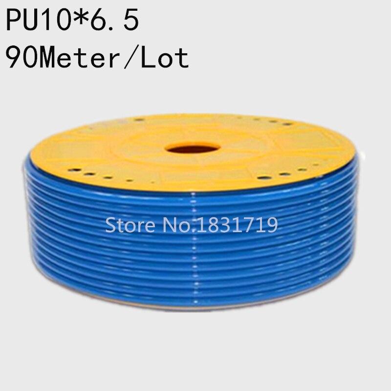 90M/Lot PU10x6.5 10mm OD 6.5mm ID Pneumatic PU Tube Hose PU10*6.590M/Lot PU10x6.5 10mm OD 6.5mm ID Pneumatic PU Tube Hose PU10*6.5