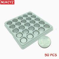 50 PCS/lot CR2016 3 V pile Lithium DL2016 ECR2016 LM2016 BR2016 CR 2016 bouton pile bouton livraison gratuite