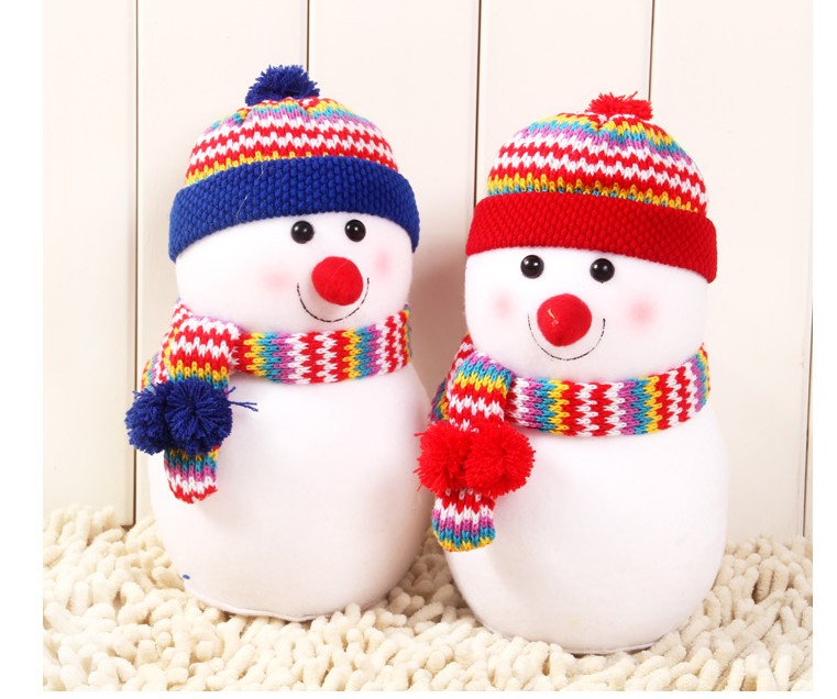 new year merry christmas gift christmas ornaments snowman doll decoration christmas toys snowman christmas decoration large size in christmas from home - Snowman Christmas Decorations