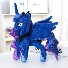 Мой милый маленький хлопок Дружба это волшебное аниме домашнее животное мягкие плюшевые игрушки чучело животное кукла Единорог животное лошадь принцесса Луна
