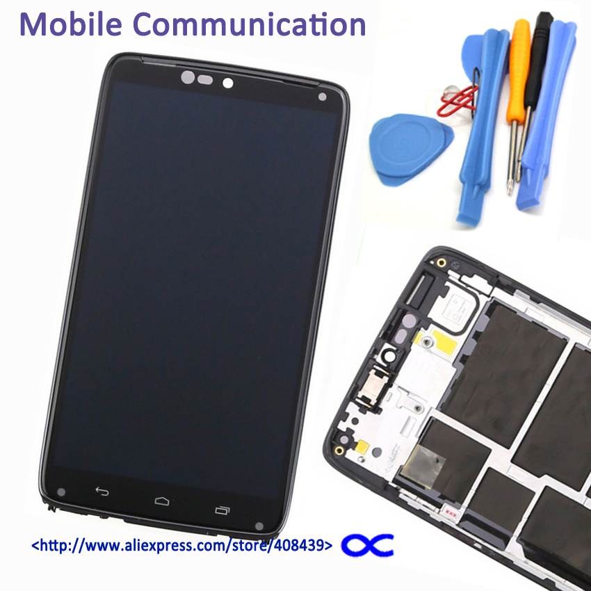 Original XT1254 LCD For Motorola Moto Droid Turbo XT1254 Display Touch Panel Screen Digitizer With Frame Assembly tools new original lcd replacements for motorola moto g xt1032 xt1033 lcd display touch digitizer screen with frame assembly tools