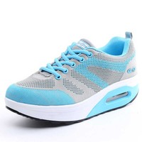 Height Increasing Running Shoes For Women Platform Sneakers Sportschuhe Outdoor Breathable Sneakers Athletic Sports Shoes