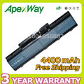 Apexway New 6 cell Laptop Battery For Acer Aspire 5536G 5735Z 5737Z 5738 5738DG 5738G 5738Z 5738ZG 5740DG 5740G 7715Z 5740