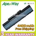 Apexway nueva 6 celdas de batería para portátil acer aspire 5536g 5735Z 5737Z 5738 5738G 5738Z 5738ZG 5738DG 5740DG 5740G 7715Z 5740