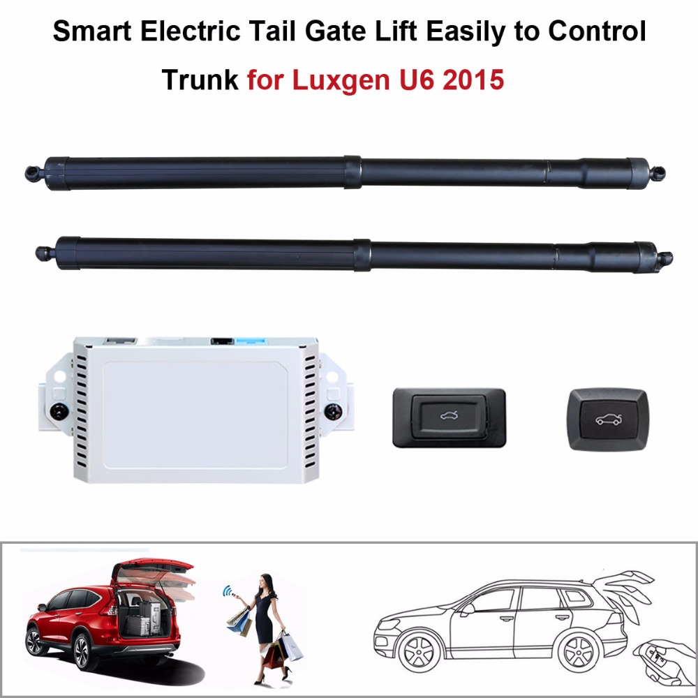 Auto  Electric Tail Gate Lift For Luxgen U6 2015  Control By Remote