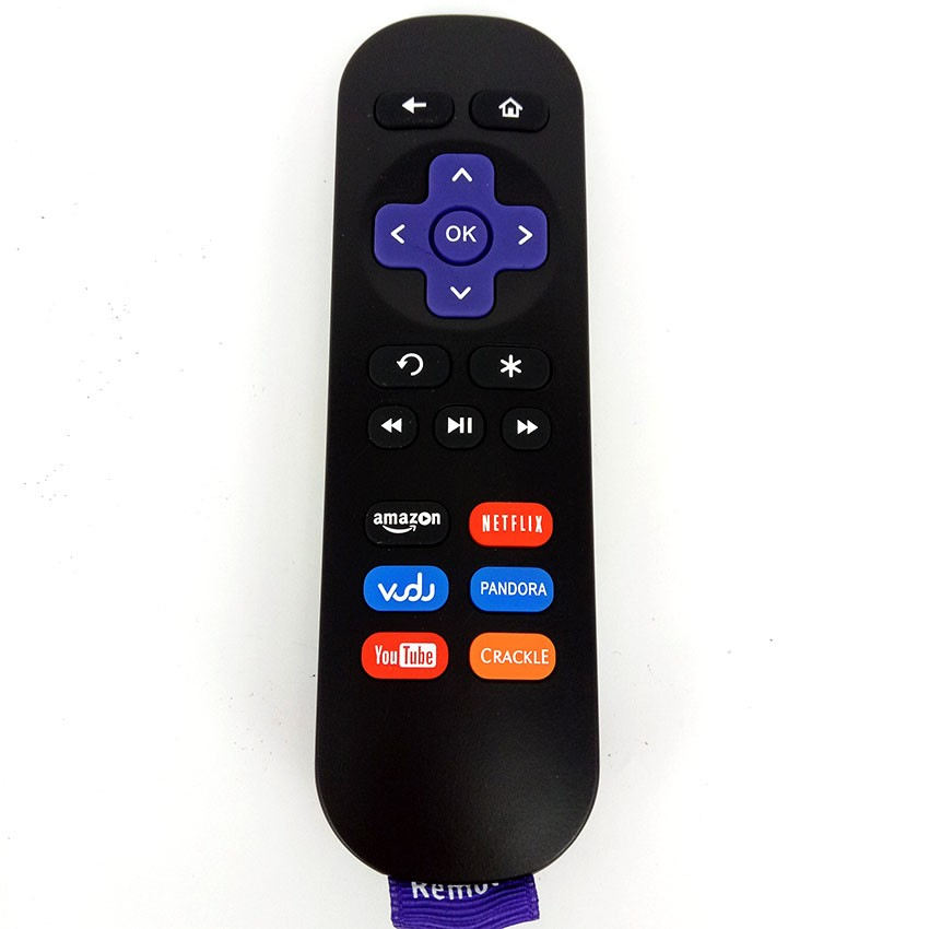 2pcs Remote Control ANDERIC for ROKU 1 IR Streaming Media Player Fernbedienung free shipping