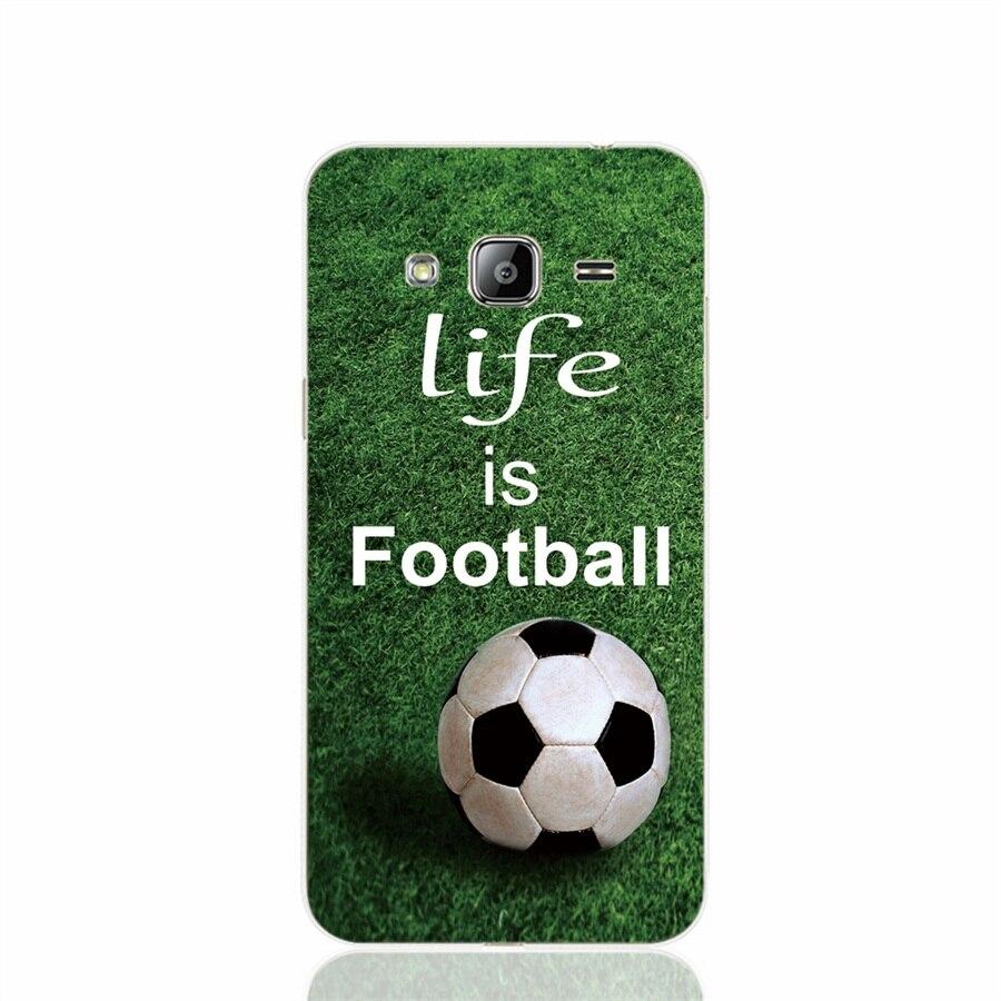 00841 de fútbol es la vida case cubierta del teléfono celular para samsung galax