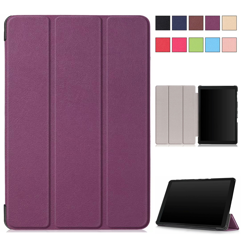 Flip Magnetic Case for Samsung Galaxy Tab A 10.5'' SM-T595 T590 T597 Tab A T595 10.5'' Folio Protective Tablet Case agencia ele intermedio libro del alumno cd