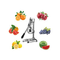 Stainless Steel Manual Hand Juicer Slow Juicer For Orange Lemon Lime and Grapefruit