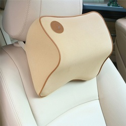 Poduszka do auta miejsca pamięci pianka tkaniny szyi zagłówek samochodowy obejmuje kołowego poduszki pokrywy fotelik samochodowy zagłówek poduszka na szyję w Poduszka pod szyję od Samochody i motocykle na