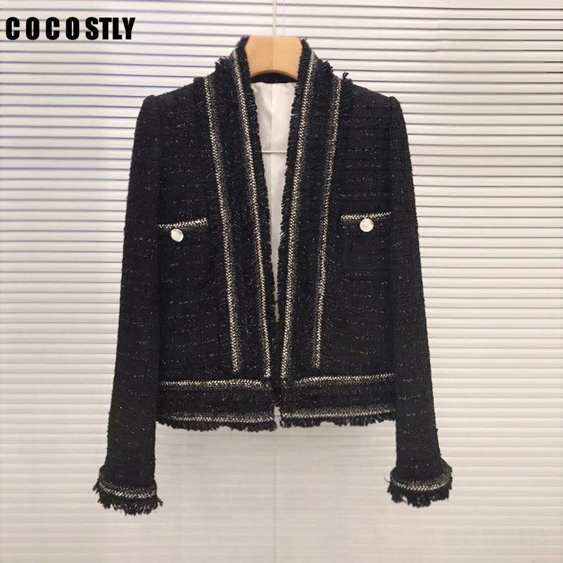 c7d8e7e577f Новинка 2018 года Винтаж шерстяные куртки пальто для будущих мам женские  твидовая куртка Casaco Feminino элегантные