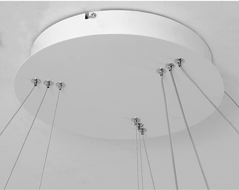 HTB1gqImgQSWBuNjSszdq6zeSpXay AC90-264VModern pendant lights for living room dining room Geometry Circle Rings acrylic aluminum body LED Lighting ceiling Lamp