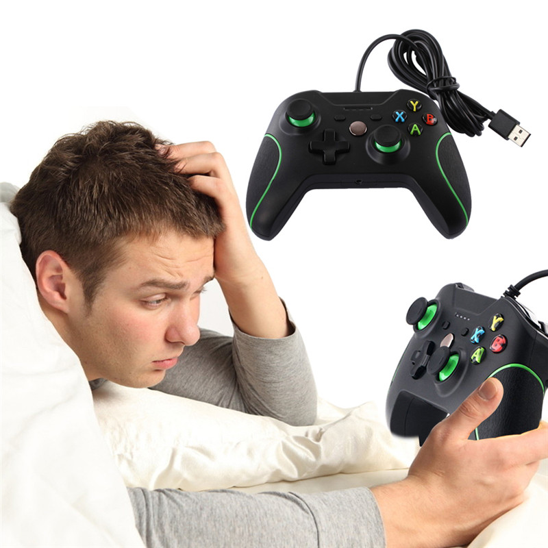 VODOOL USB Wired Controller Controle For Microsoft Xbox One Controller Gamepad For Xbox One For Windows PC Joystick