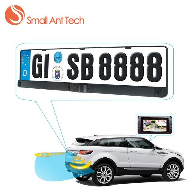 SmallAntTeach Russia Car Rear View Camera in License Plate Frame ...