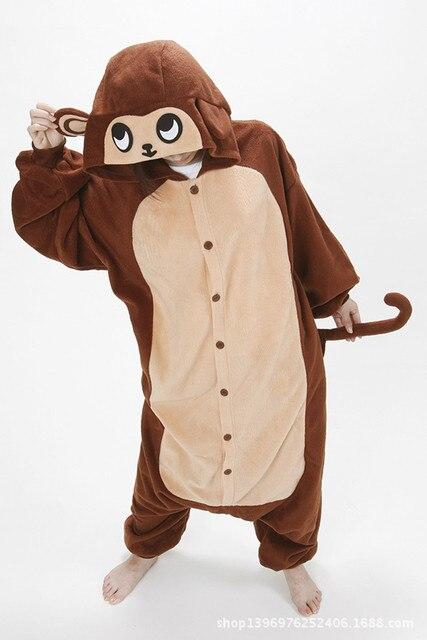 3add93135 Anime Pajama Cartoon Unisex Adult Monkey Pajamas Cosplay Costume ...