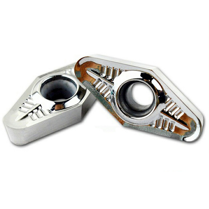 10pcs VCGT220530 VCGT220516 AK H01 Aluminum Turning Inserts Carbide Blade Cnc Lathe Cutter Aluminum Copper Tool