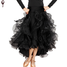 Modern Dance Skirts Ballroom Dancing Skirt Customer Tailor Available 7colors Ballroom Free Shipping Flamenco Waltz Dresses