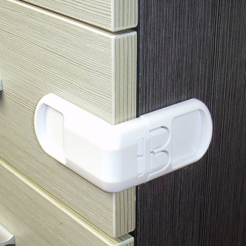 5pcs Plastic Baby Safety Protection From Children In Cabinets Boxes Lock Drawer Door Terminator Security Product 1