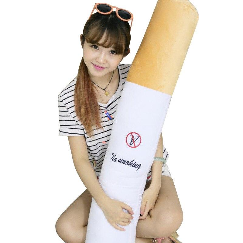 60 см сигареты творческая Животные плюшевые игрушки красочные Рождественский подарок для детей любовь большой длина подушки для