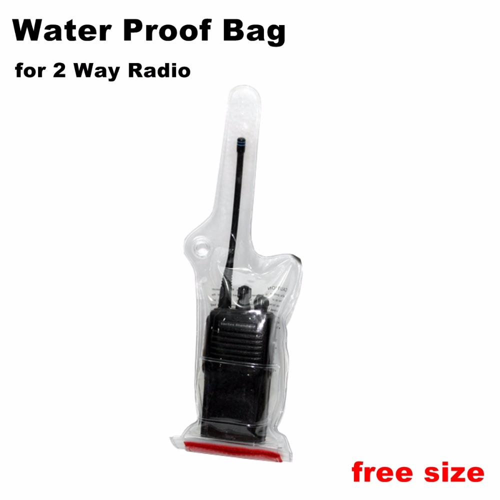 Water Proof Bag Free Size For 2 Way Radio