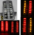 CLEAR integrated LED-Tail light For Suzuki SV 650/1000 03-08 2003 2004 2005 2006 2007 2008