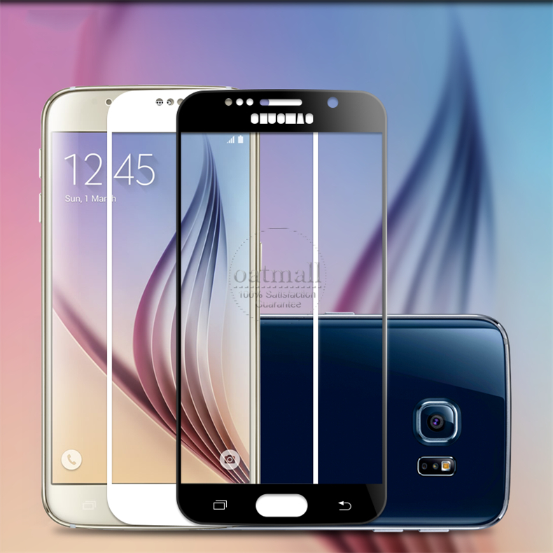0.26mm Full Screen Tempered Glass Film For Samsung Galaxy S6 S7 Screen Protector 9H Gorilla Glass protective Glass On S6 Saver