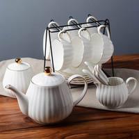 영어 차 세트 커피 컵 접시 세트 오후 차 세트