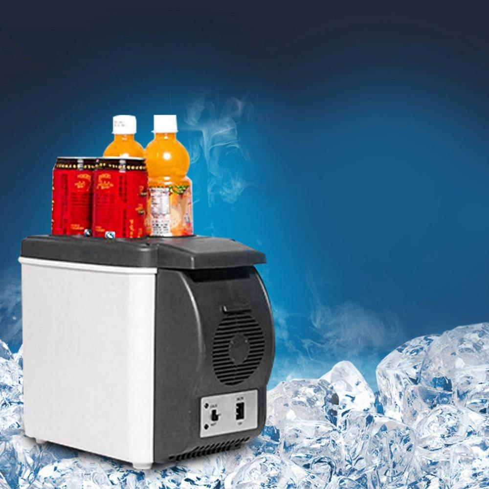 12V Portable Car Small Refrigerator Fridge Cooler & Warmer Enough Capacity(China)