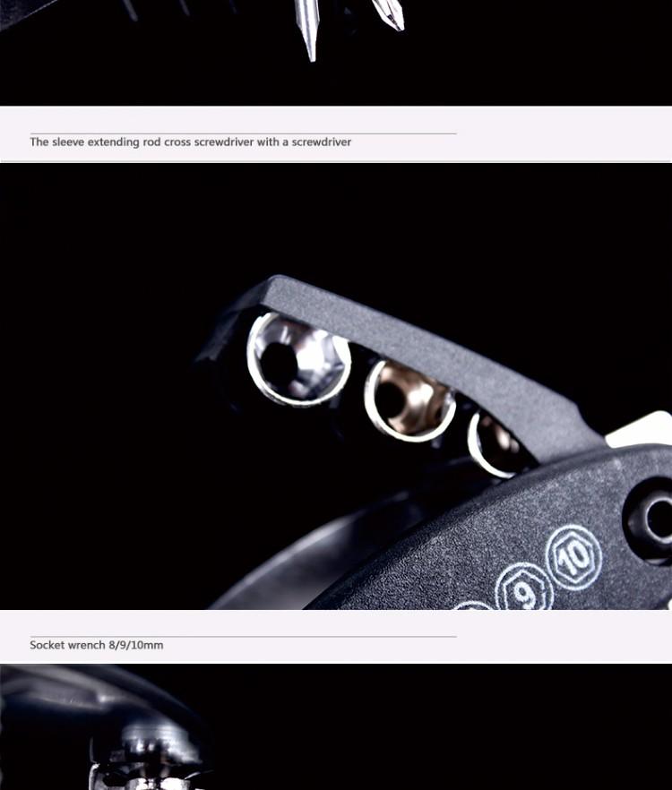 Bicycle 15in1 Multi Repair Tools Set