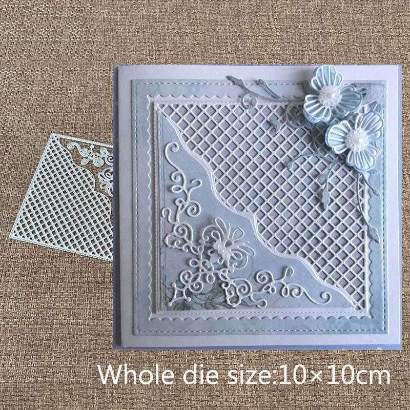 New Design Craft Metal Cutting Dies new 7pcs Vintage lace ornament Scrapbooking