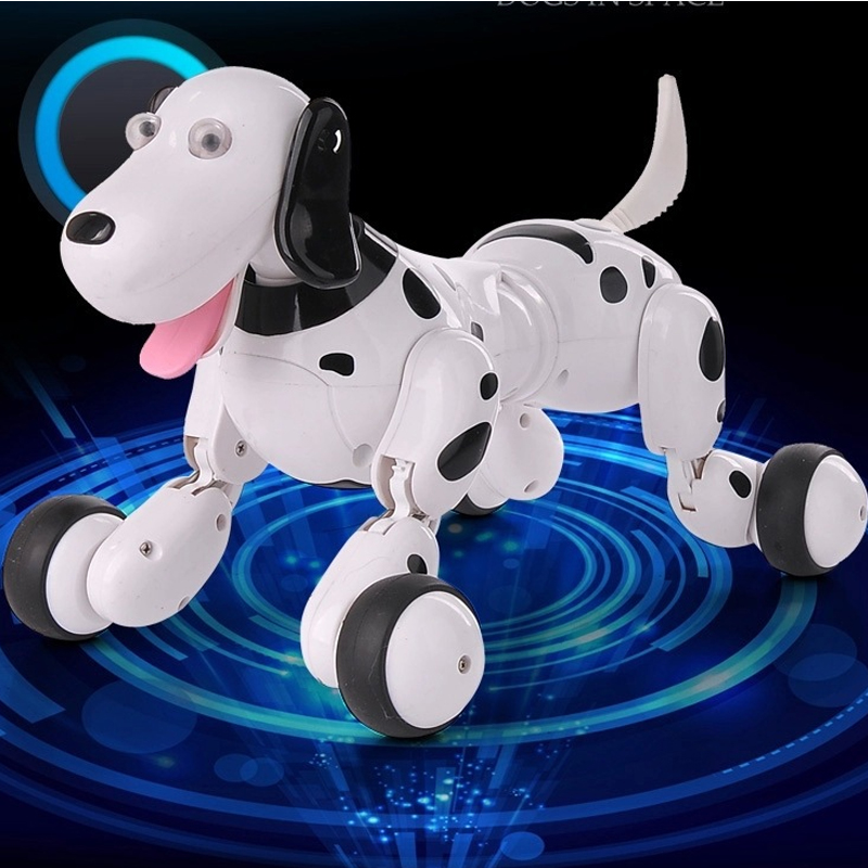 2.4G RC Pet Dog Toys Walking Dog Smart Remote Control Robot Dog Electronic Pet Animal Kids Educational Toys Birthday Gift pet safe electronic shock vibrating dog training collar with remote control 2 x aaa 1 x 6f22 9v