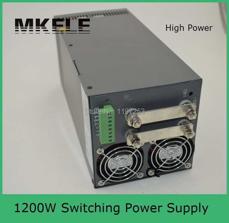 SCN-1200-24 ac to dc single output 1200watt professional 24v 50a switching power supply 24v 1200w with PFC function limit switches scn 1633sc