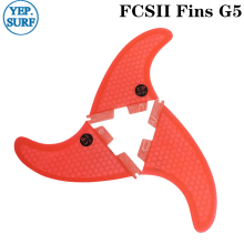 Quality Surf Fin FCS2 G7 Fins Honeycomb Fibreglass Carbon Fiber Blue Good-Quality Hot Sale FCSII Free Shipping