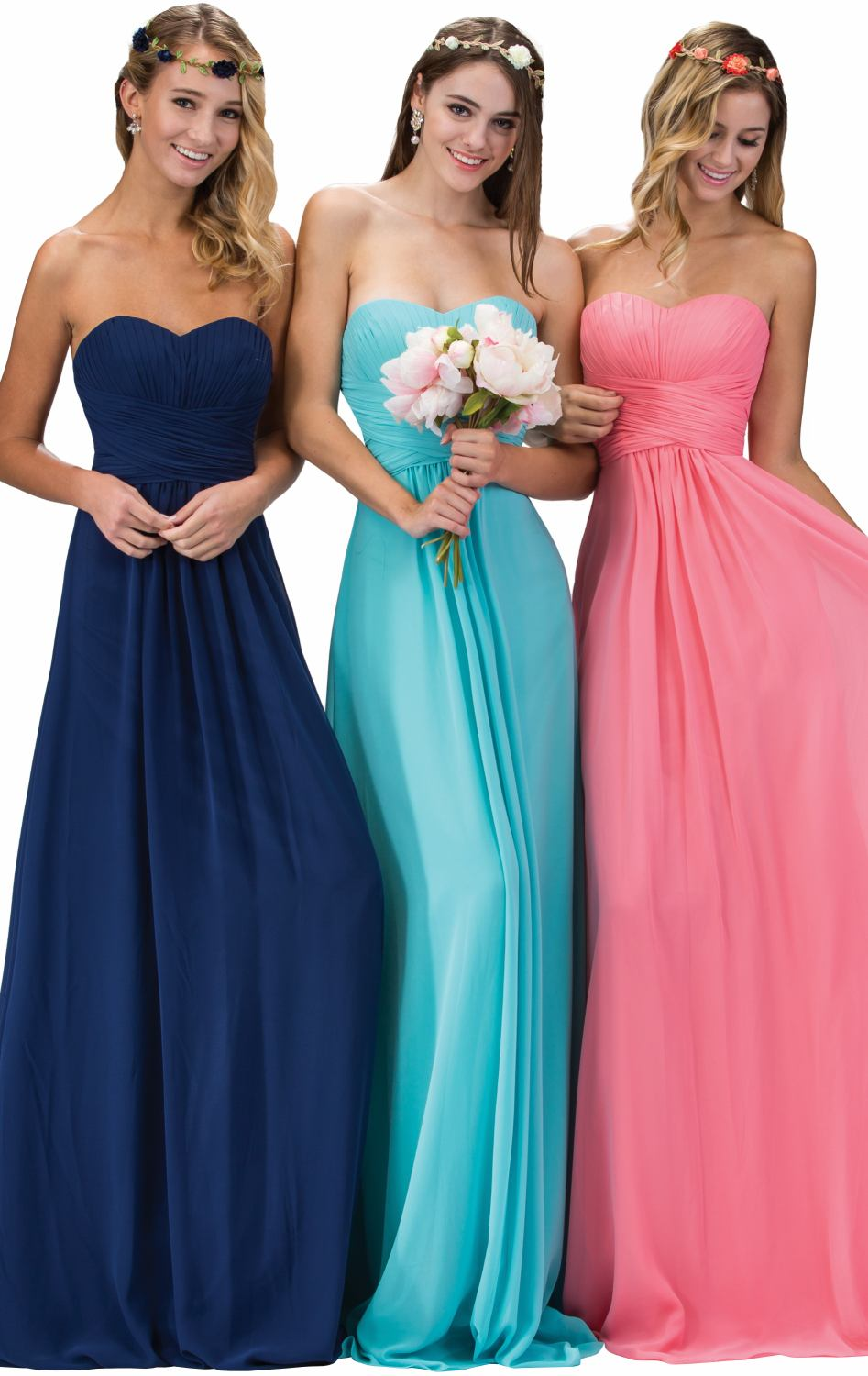 2017 pleat bridesmaid dresses real photos built bra blue pink navy 2017 pleat bridesmaid dresses real photos built bra blue pink navy pink champagne stock cheap wedding party dress d1511125 in bridesmaid dresses from ombrellifo Images