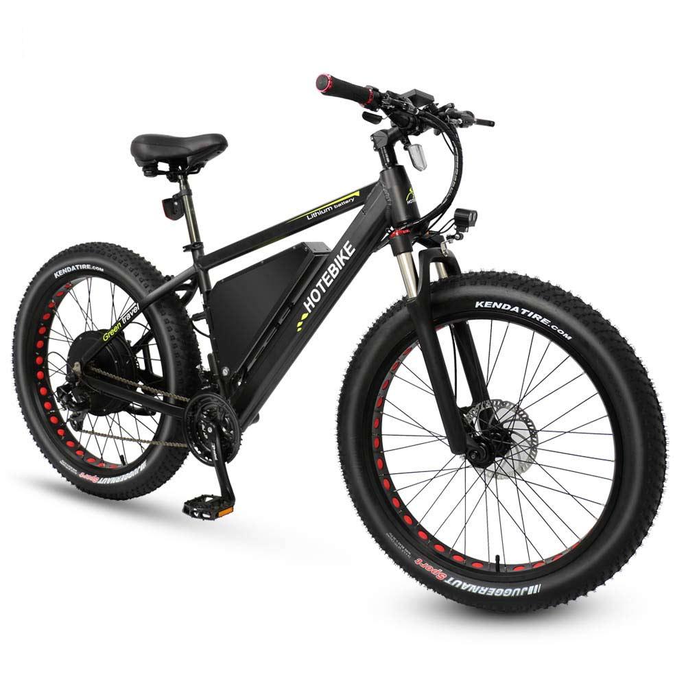 1000 W puissant fat tire vélo électrique avec 20AH batterie Moto Neige