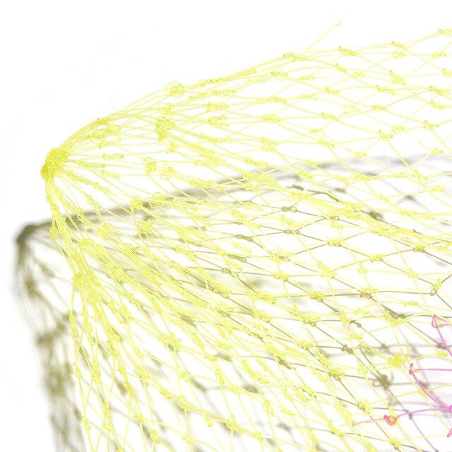 Amazing No.1 Collapsible Fishing Tools Nylon Fishing Net Fishing Accessories cb5feb1b7314637725a2e7: 40 CM|50 CM|60 CM