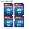 100% Real Capacity WANSENDA SD Card 32GB 64GB Memory Card 16GB 8GB 4GB SDHC SDXC Flash Memory Card H2testw Test