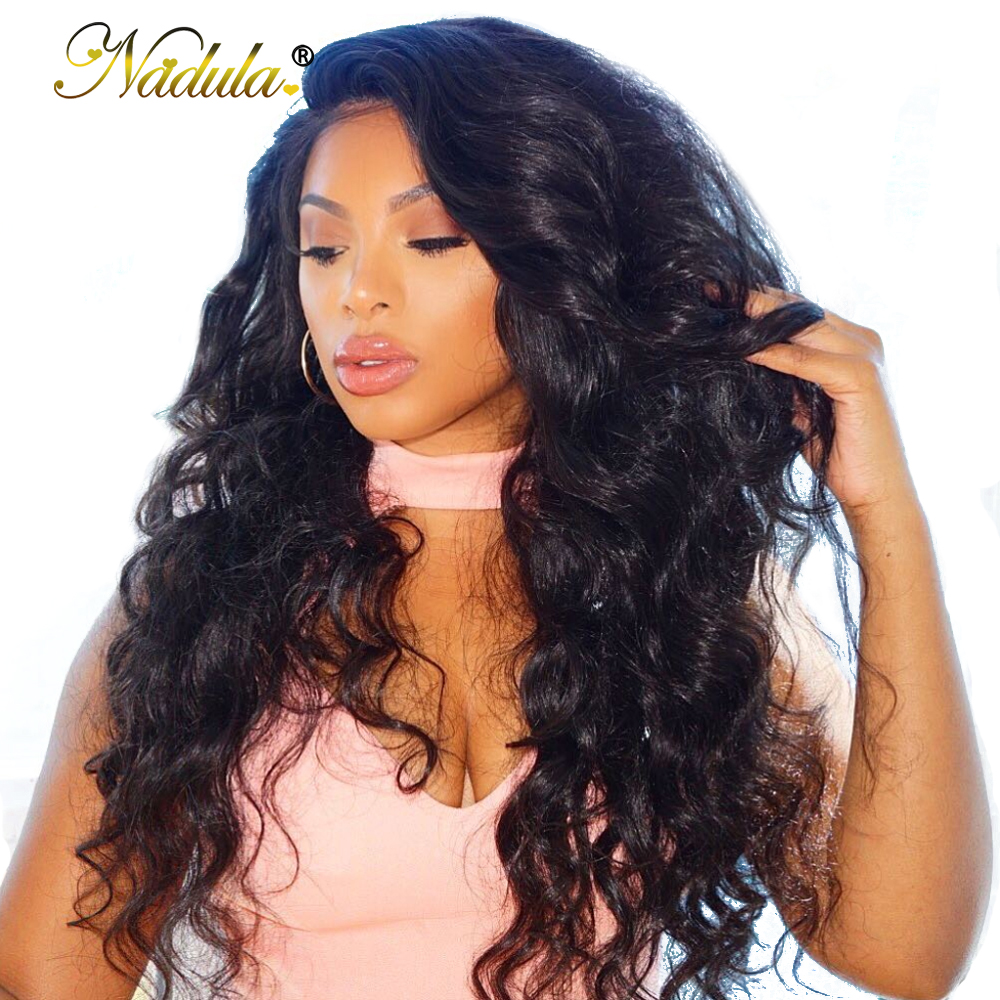 Nadula Hair 13 4 Lace Front Human Hair Wig Body Wave Lace Front Wig For Women