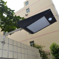 High Quality Power Outdoor IP65 1000 Lumen 81 Leds integrated solar street light Motion Sensor Solar Lamps