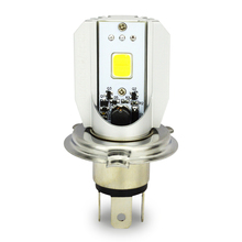 Safego H4 Motorcycle Led Headlight DC 6V~80V 9W 1000LM COB Light HS1 Bulb 6500K 9003 Moped Scooter Motorbike Head lamp M2