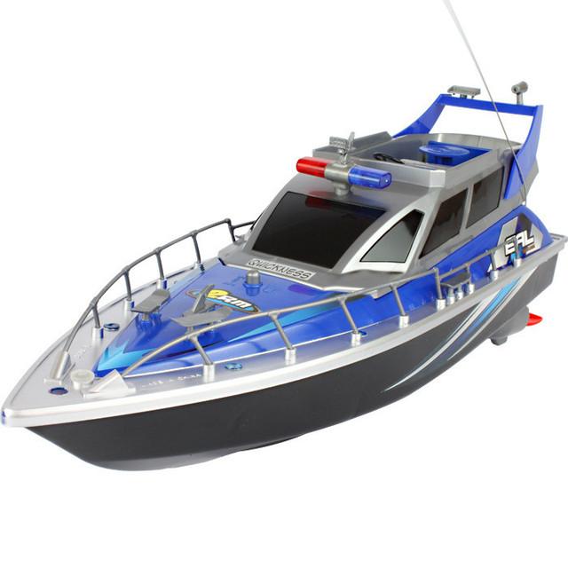 1 Unidades de Lujo Lancha Agua Lancha Eléctrico de Control Remoto RC Barco de Alta Velocidad de Control Remoto de Modelos de Barcos
