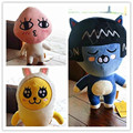 Kakao amigos neo muzi apeach corto felpa de algodón pp de peluche juguetes de la muñeca