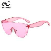 Zuan Mei Brand Design Butterfly Sunglasses Plastic Frame UV400 Sun Glasses For Men Women Cool Multi