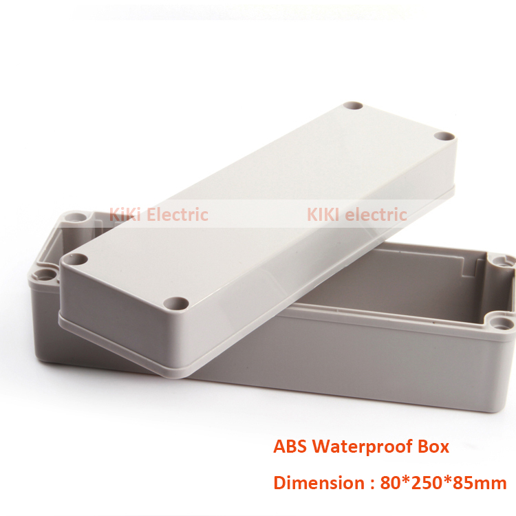 Instrument Parts & Accessories Dutiful Eletronic Product For 2016 Connection Waterproof Ip66 Abs Plastic Box Use As Junction Enclosure 80*250*85mm Ds-ag-0825-1 Great Varieties Tools