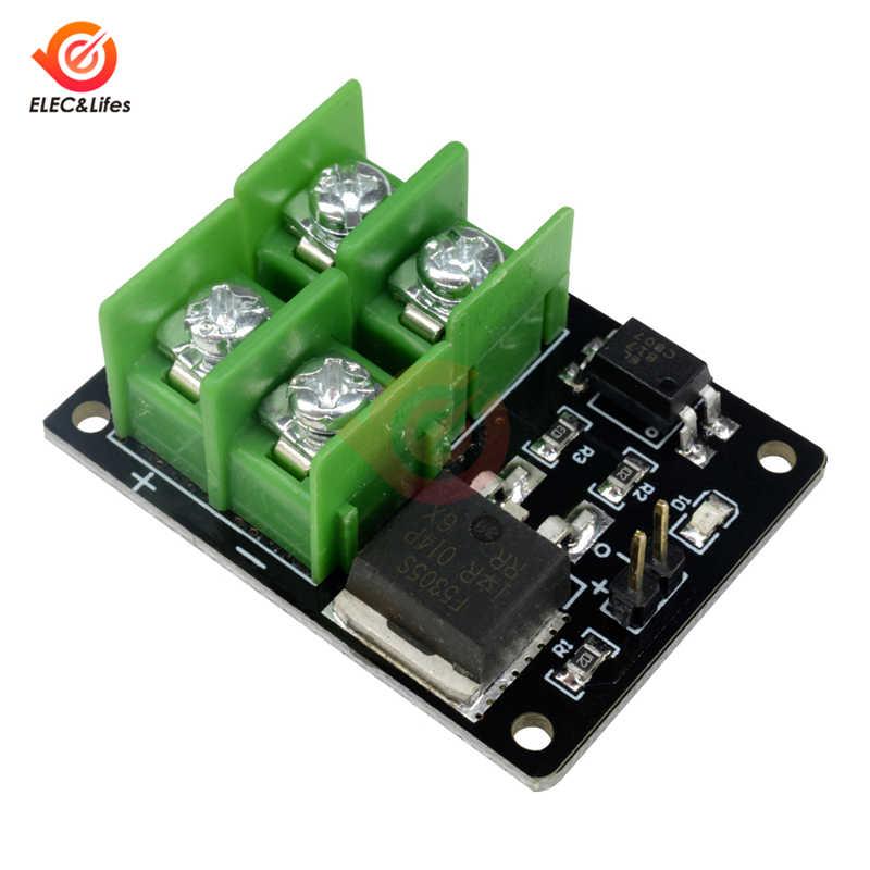 3 فولت 5 فولت التحكم المنخفض عالية مصدر إمداد الطاقة موسفيت وحدة ل اردوينو ربط IO MCU PWM التحكم سرعة المحرك الحالي 22A