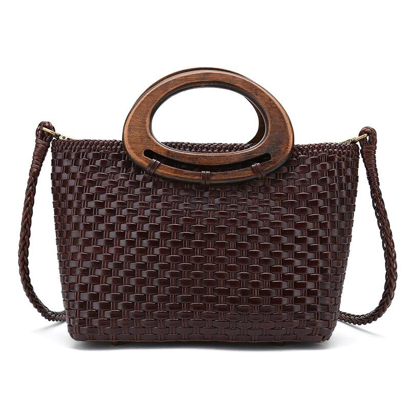 Hand Weave Women Handbags Leather Weave Shoulder Totes Soft Zipper Crossbody Party Lady Messenger Bags цена 2017