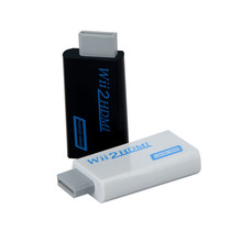 Wii в концентратор адаптер конвертер 3,5 мм аудио wii 2HDMI видео выход адаптер для HDTV монитор Поддержка 720P 1080P