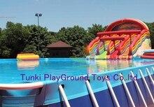 경쟁력있는 가격 좋은 판매 수영장 물 슬라이드
